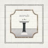 Sink Scrub Fine-Art Print