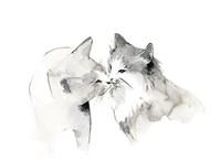 Cat Kiss Fine-Art Print