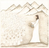 Jesus Feeds Five Thousand Fine-Art Print