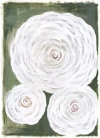 Big White Flowers II Fine-Art Print