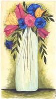 Abstract Flowers II Fine-Art Print