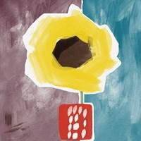 Sunflower in Small Vase Fine-Art Print