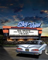 Skyview Drive In Fine-Art Print