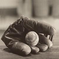 Ball in Mitt Fine-Art Print