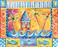 Beach House Fine-Art Print