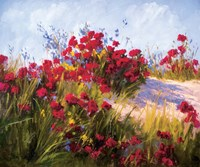 Red Poppies and Wild Flowers Fine-Art Print