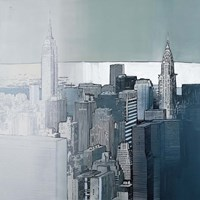 Chrysler and Empire State Buildings Fine-Art Print