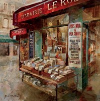 Librarie Paris Fine-Art Print