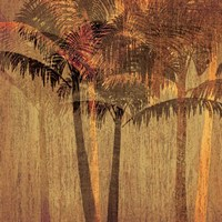 Sunset Palms II Fine-Art Print