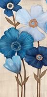 Fleurs Bleues I Fine-Art Print