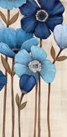Fleurs Bleues II Fine-Art Print