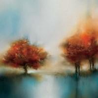Morning Mist & Maple II Fine-Art Print