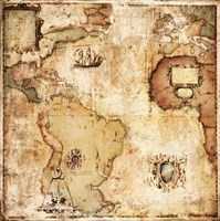 Map of Discovery Fine-Art Print