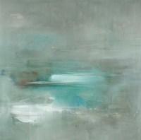 Misty Pale Azura Sea Fine-Art Print