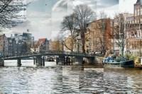 Zwanenburgwal Canal Fine-Art Print