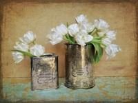 Vintage Tulips I Fine-Art Print