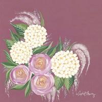 Floral in Plum Fine-Art Print