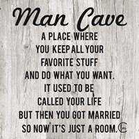 Man Cave Fine-Art Print