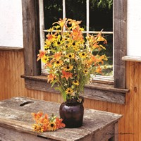 Wildflower Window Fine-Art Print