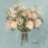 Blue Rose Bouquet I Fine-Art Print