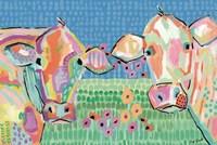 Moo Series:  Lucy & Peggy Fine-Art Print