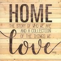 Home Story Fine-Art Print