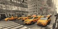 5th Avenue Taxi Fine-Art Print