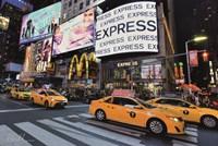 Times Square Taxi I Fine-Art Print