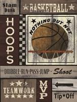 Basketball Hoops Fine-Art Print