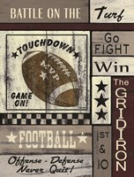 Football Game On Fine-Art Print