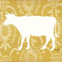 Cow Silhouette Fine-Art Print