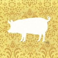 Pig Silhouette Fine-Art Print