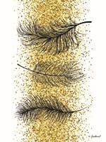 Glitter Feathers Fine-Art Print