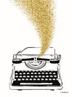 Glitter Typewriter Fine-Art Print