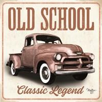 Old School Vintage Trucks I Fine-Art Print