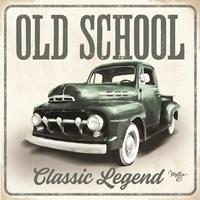 Old School Vintage Trucks III Fine-Art Print
