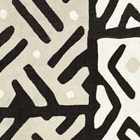 Kuba Cloth I Sq II Neutral Fine-Art Print