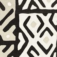 Kuba Cloth I Sq I Neutral Fine-Art Print