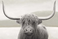 Highland Cow Neutral Fine-Art Print