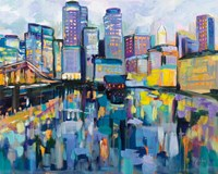 Boston Harbor Fine-Art Print
