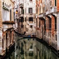Venice Boat Ride Fine-Art Print