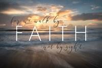 Walk by Faith Fine-Art Print