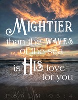 Mightier than the Waves Fine-Art Print