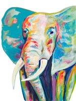 Colorful Elephant Fine-Art Print