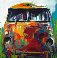 Retro Love Bus Fine-Art Print