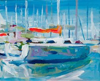Marina Sailboats Fine-Art Print