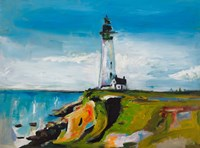 Lighthouse on a Cliff Fine-Art Print