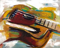 Colorful Guitar Fine-Art Print