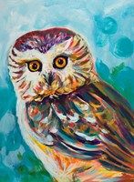 Colorful Owl Fine-Art Print