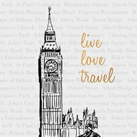 Live Love Travel Fine-Art Print